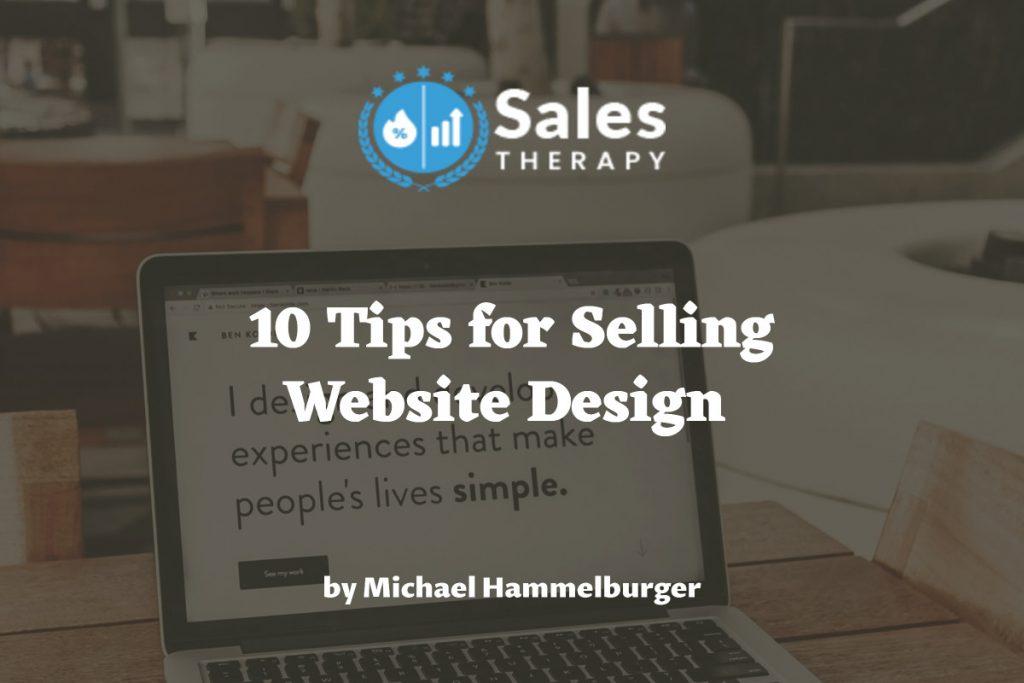 10 Tips for Selling Website Design