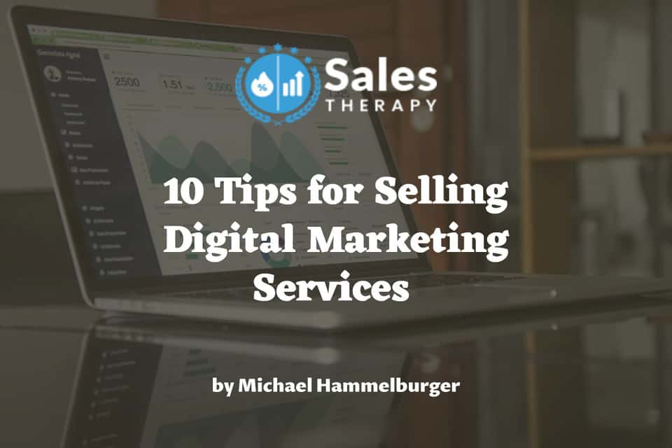 how to sell Digital Marketing Services
