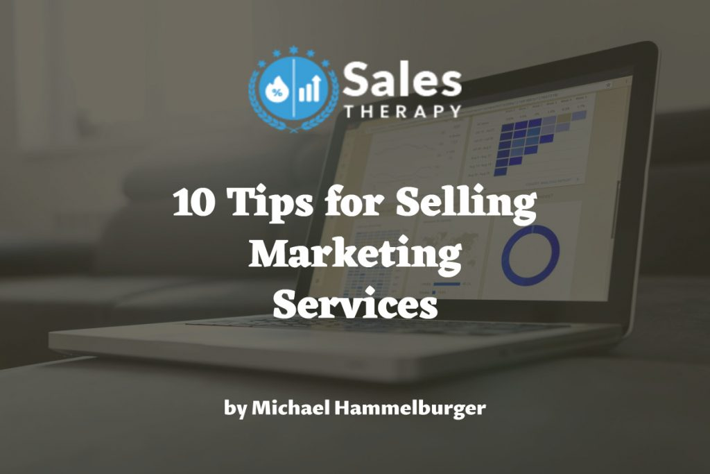 how to sell marketing services