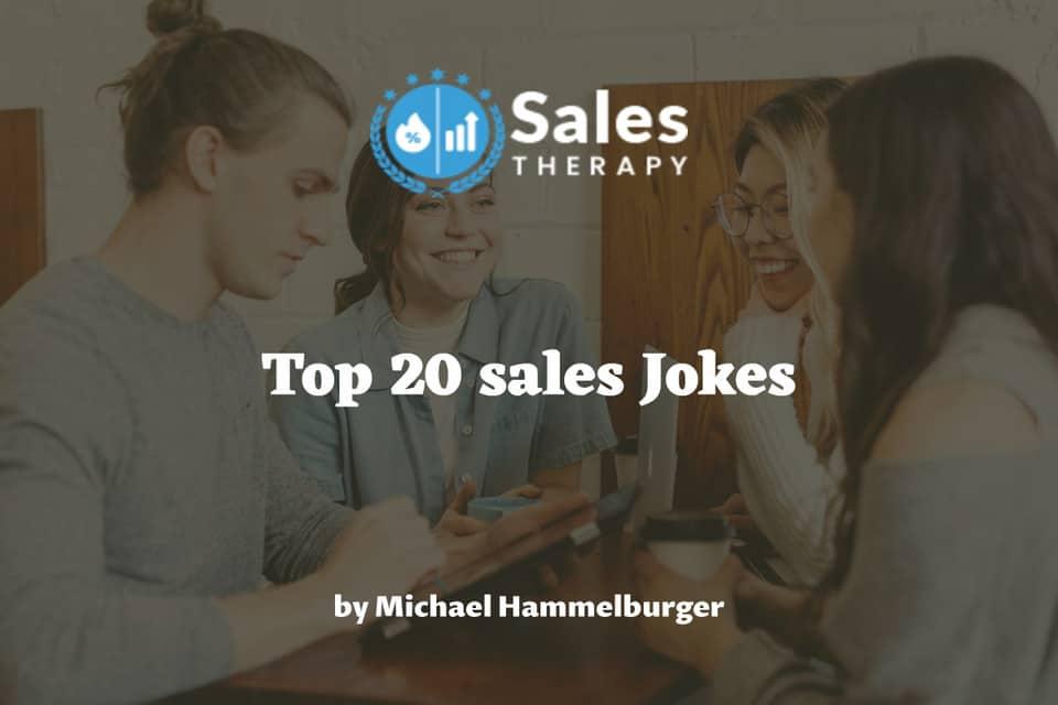 top 20 sales Jokes
