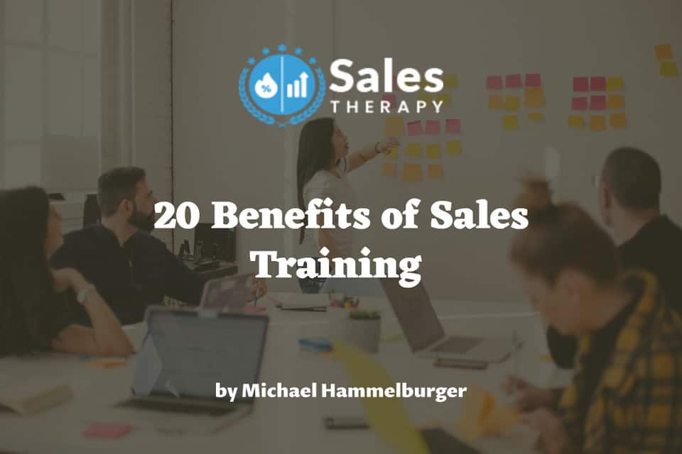 20 Benefits of Sales Training